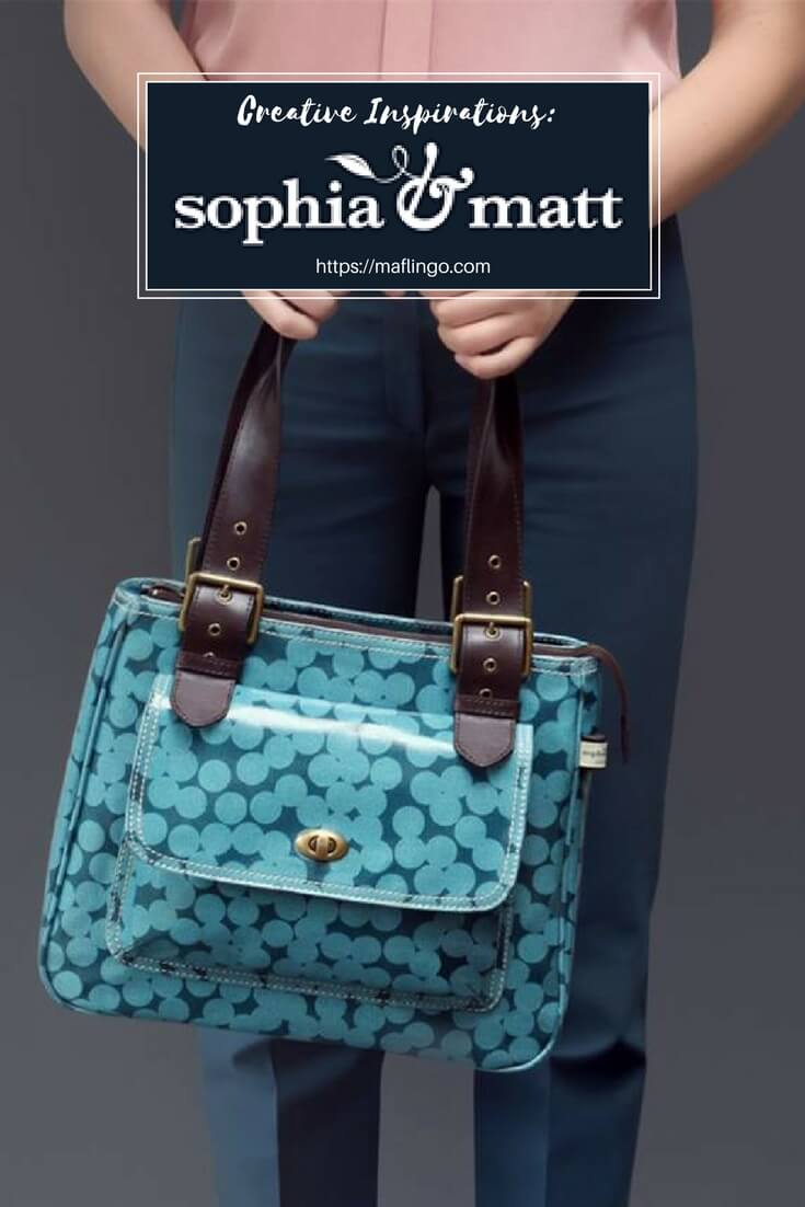 Creative Inspirations: Sophia & Matt, designers of beautiful prints, handbags, wash bags, cosmetic bags, makeup bags and purses. I interview them about their company, how it started and find out about them and their shop. Part 2
