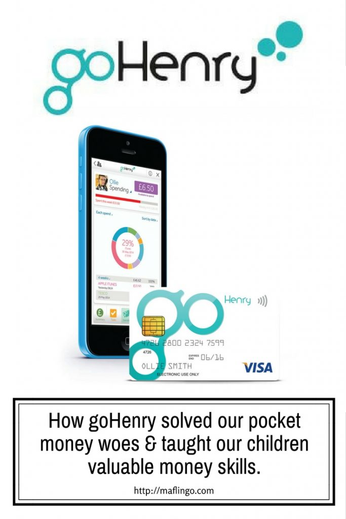 How goHenry solved our pocket money woes & taught our children valuable money skills. Saving, Spending, Giving are all valuable financial skills for our kids to learn the App and prepaid visa from goHenry helps!