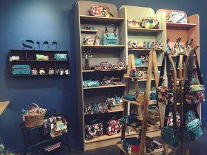 Inside Sophia & Matt Brighton Store: Shelves of products