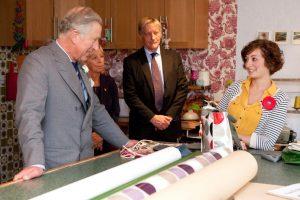 Prince Charles Visits Sophia & Matt Studio