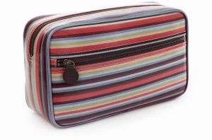 Large Mainline Wash bag, stripe