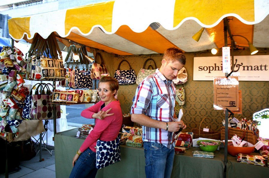 Sophia & Matt attend the Thames Festival 2012. Image: Sophia & Matt