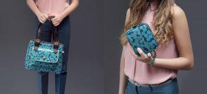 Sophia & Matt wallets, Purses and Handbags being held by models