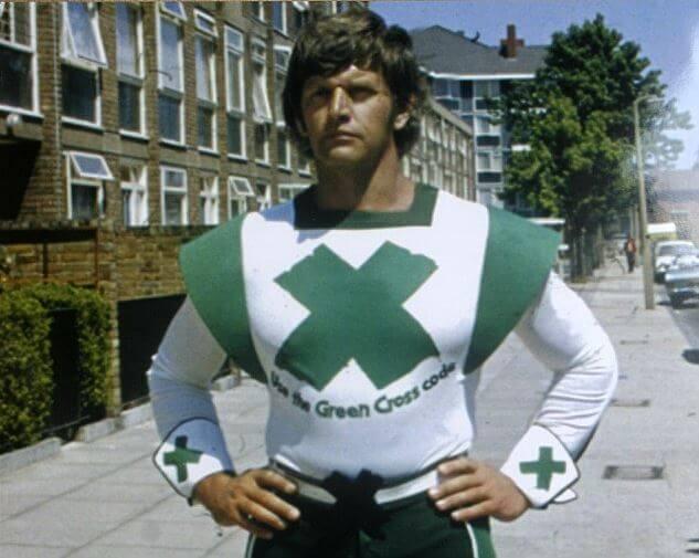 The Green Cross Code Man