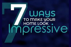 Infographic Home Makeover on a budget : 7 ways to make your home look more impressive and expensive if you're planning a room makeover but don't want to spend a fortune.
