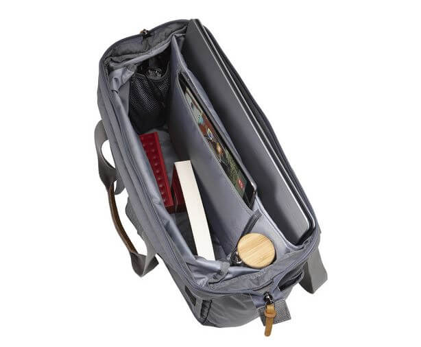 Case Logic LoDo Satchel Opened up from above
