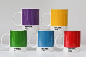 Pantone Universe Mug set Bright Set of 5 Mugs