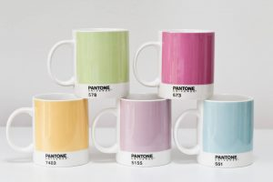 Pantone Universe Mug Pastel Set of 5 Mugs