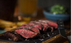 Steakhouse Son of Steak Nottingham Review : Flat Iron Steak is the most succulent steak I've ever tasted.