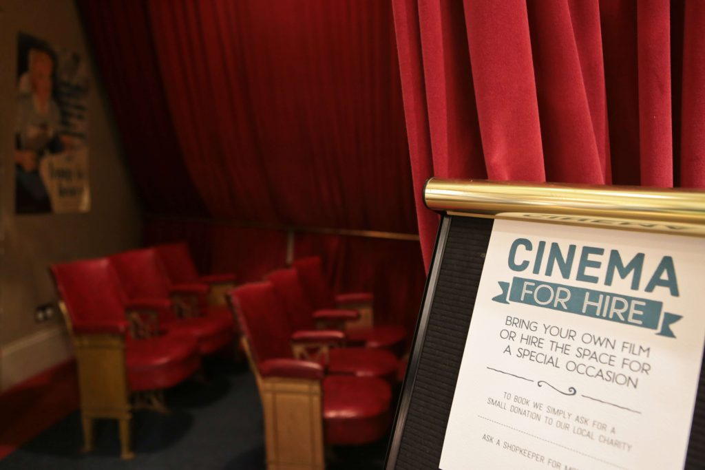 White Stuff Nottingham Store Cinema Room for hire