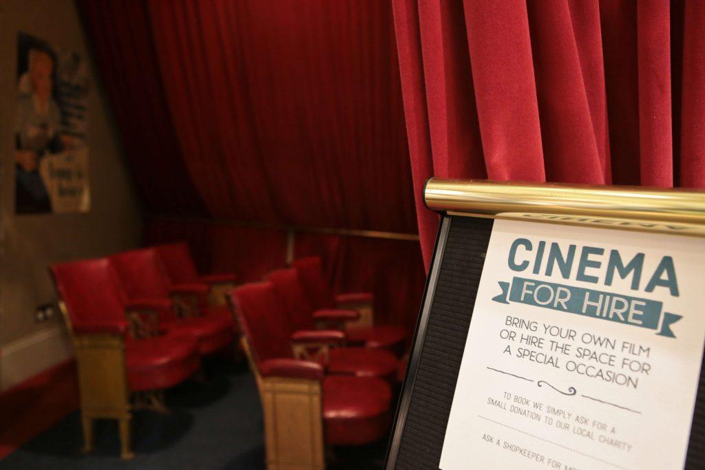 White Stuff Nottingham Store Cinema Room for hire