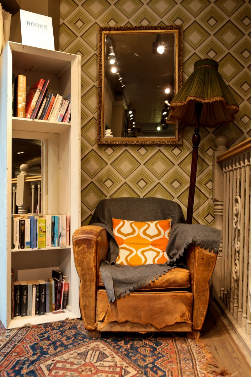 White Stuff Nottingham Store Armchair and bookcase