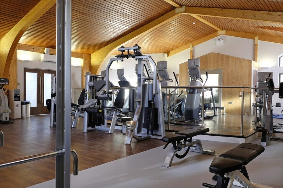 Gym facilities at Kelling Heath