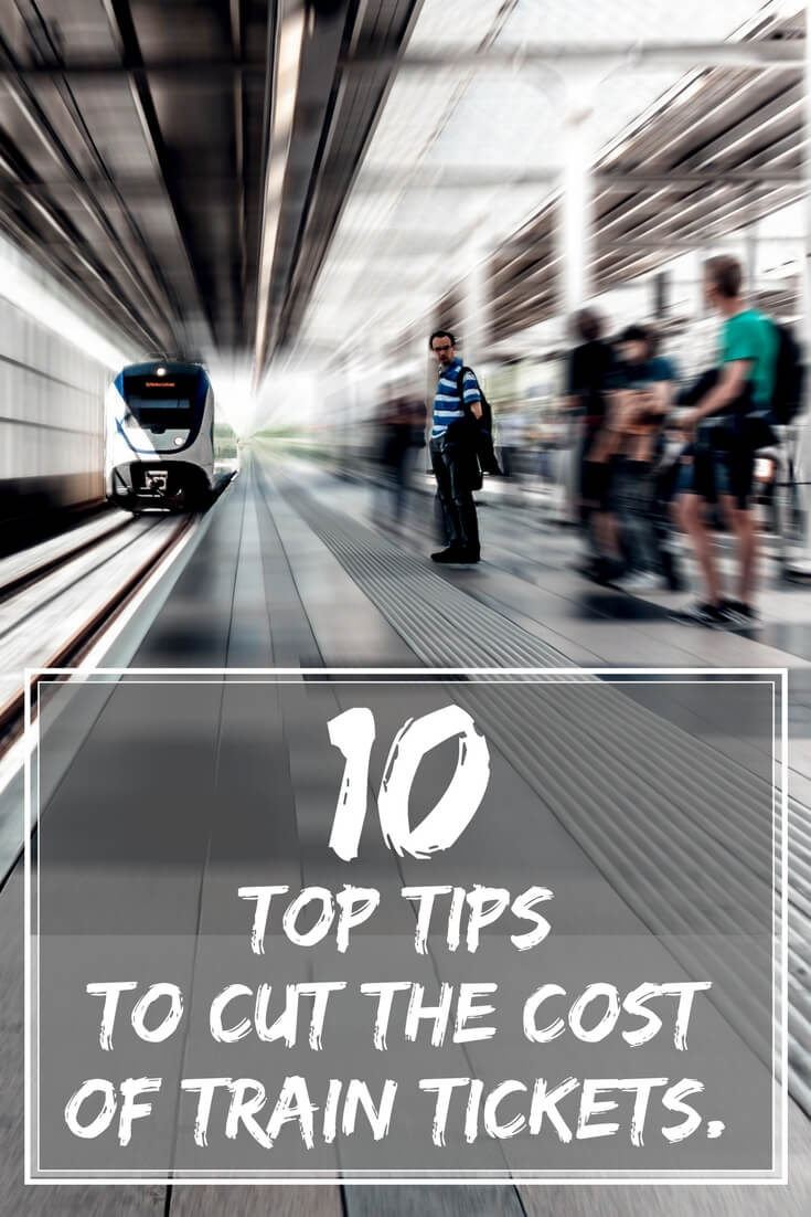 10 Top tips to cut the cost of your train tickets. I list my clever tricks for saving money on train travel. Splitting tickets, advance booking, Railcards, cashback & Tesco Clubcard points will help cut rail fare costs.