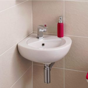 Corner Cloakroom basin