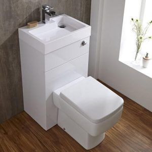 Milano Bliss Cloakroom Combination Toilet & Basin Unit