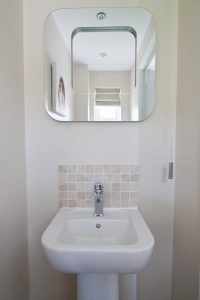 Our downstairs toilet WC with cloakroom basin