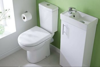 Why a cloakroom basin is essential for a small bathroom makeover.