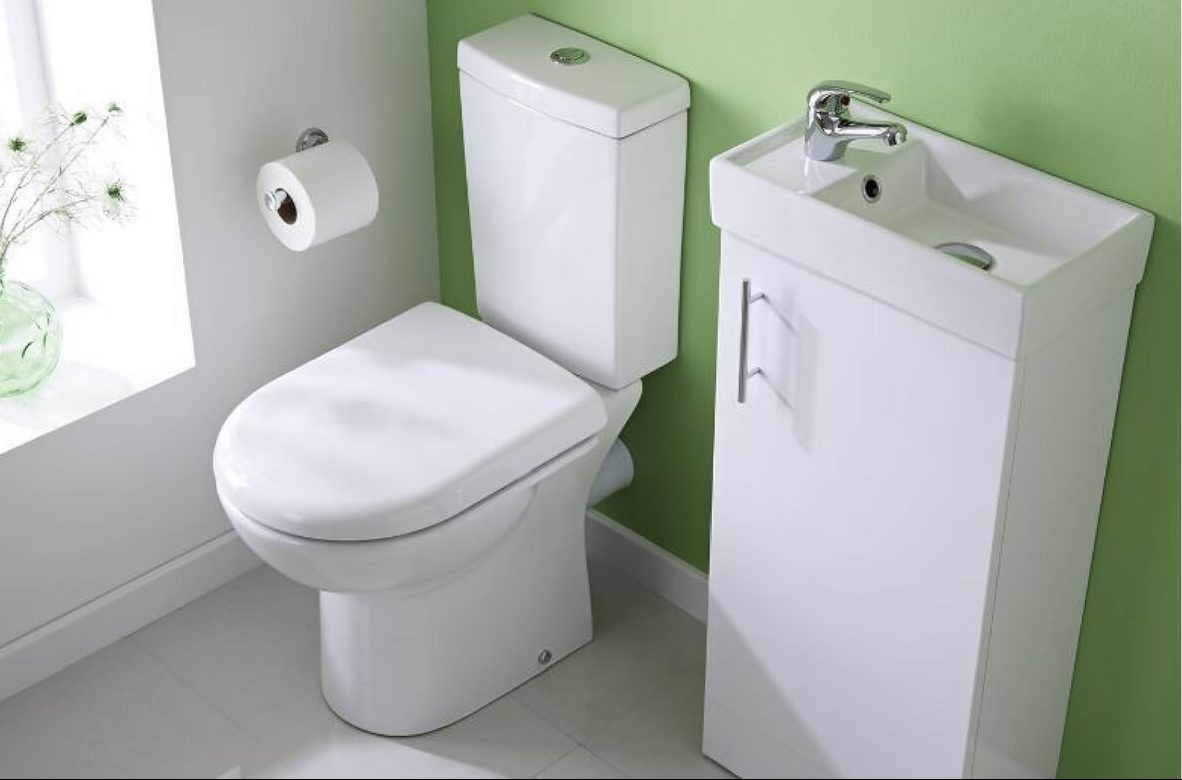 A Cloakroom Basin Is Essential For A Small Bathroom Makeover - Small cloakroom toilet ideas