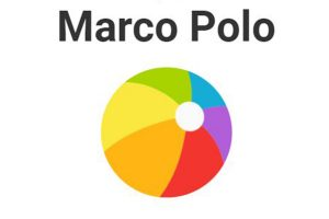 Marco Polo Video Walkie Talkie Messaging App Logo