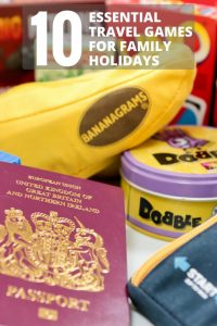 Top 10 travel games for family holidays