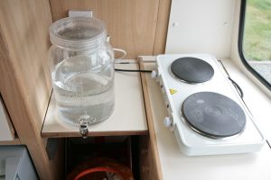 1969 Cheltenham Fawn Renovation Project After : Water jug and hob