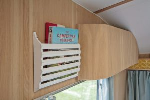 1969 Cheltenham Fawn Renovation Project After : Magazine rack on wall