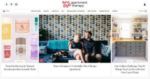 Apartment Therapy Homepage