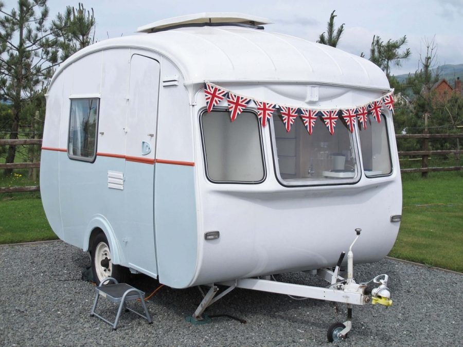 Introducing 'Betsy Squirrel': A 1969 Cheltenham Fawn Caravan restoration.