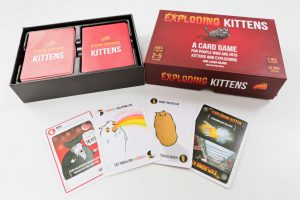 Exploding Kittens Game is the perfect game to take on holiday