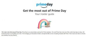 Get the most out of Prime Day with your insider guide