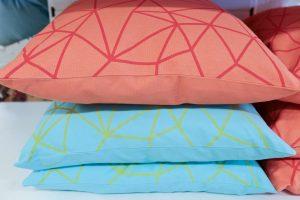 HomeSense Summer Trends Graphic Bright Geometric cushions