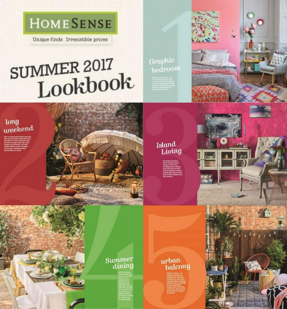 HomeSense Summer Design Trends 2017