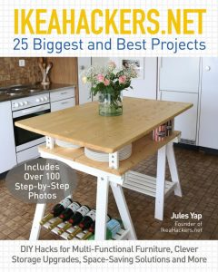 IkeaHackers.net Book 25 Biggest and Best projects from the IkeaHackers website. Be inspired and follow these Step-by-Step illustrated tutorials for fantastic Ikea Hacks for your home.