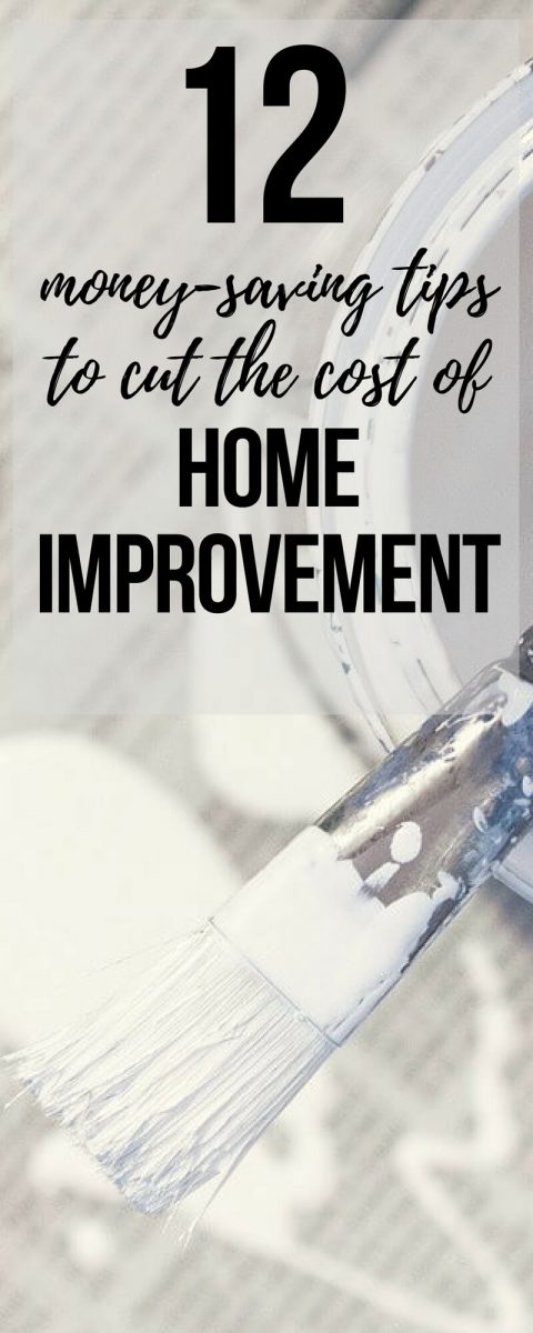 12 ways to cut the cost of home improvement. How to save money when you want to decorate your home on a budget: Including DIY, buying cheap building materials, upcycling, making use of rugs and throws, adding flowers. etc.