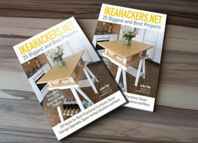 The IkeaHackers book is out now & my Ikea Hack bed is featured! (Win a copy).