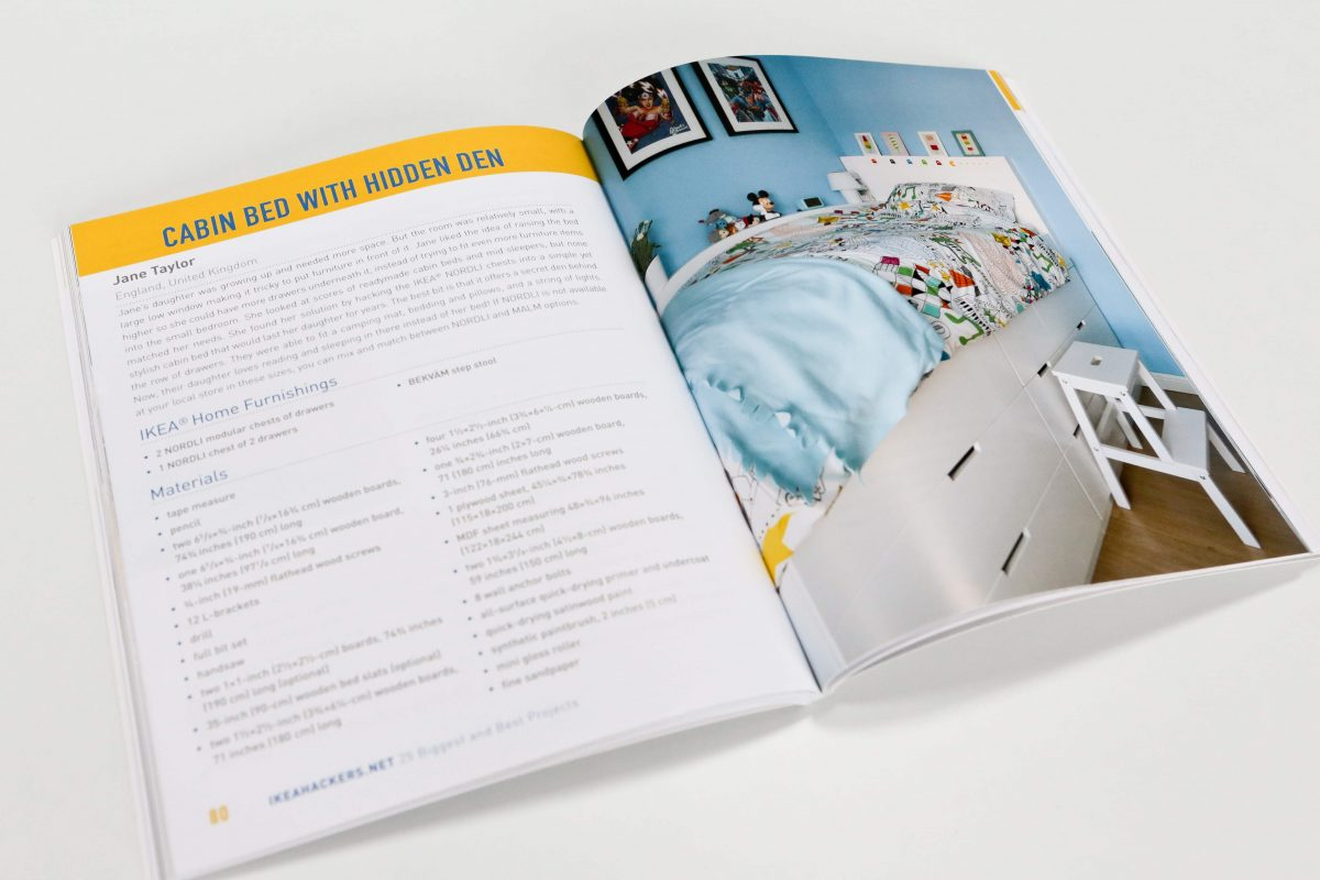 My Children's Ikea Hack Cabin Bed is featured in the Ikeahackers book