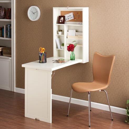 Irvin Floating Desk by Home Etc