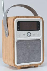 VQ Monty DAB Digital Radio close up