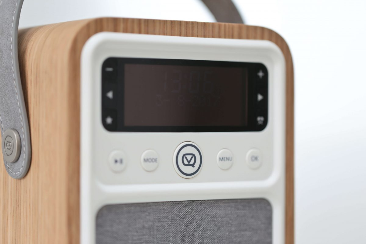 VQ Monty DAB Digital Radio display