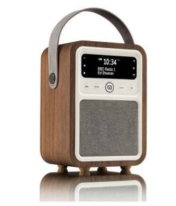 VQ Monty DAB Digital Radio in real Walnut case