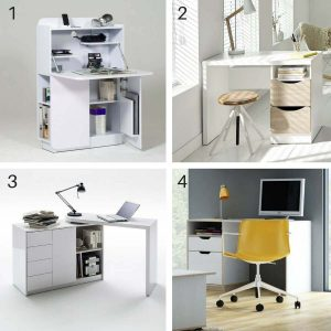 Wayfair Homework Station clever and compact desk ideas