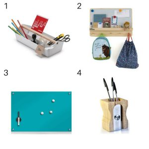 Wayfair fun and funky accessories for Homework stations