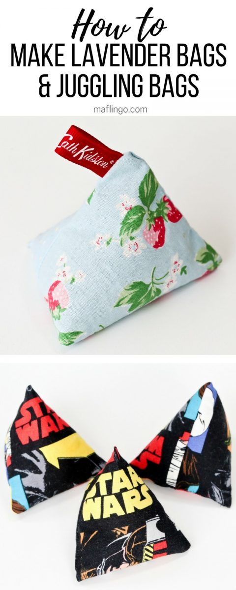 Step-by-Step Sewing Tutorial. How to make lavender bags and juggling bags in this quick and easy sewing project that's great for kids to make too. These. Perfect for gifts for boys, girls and grown-ups.