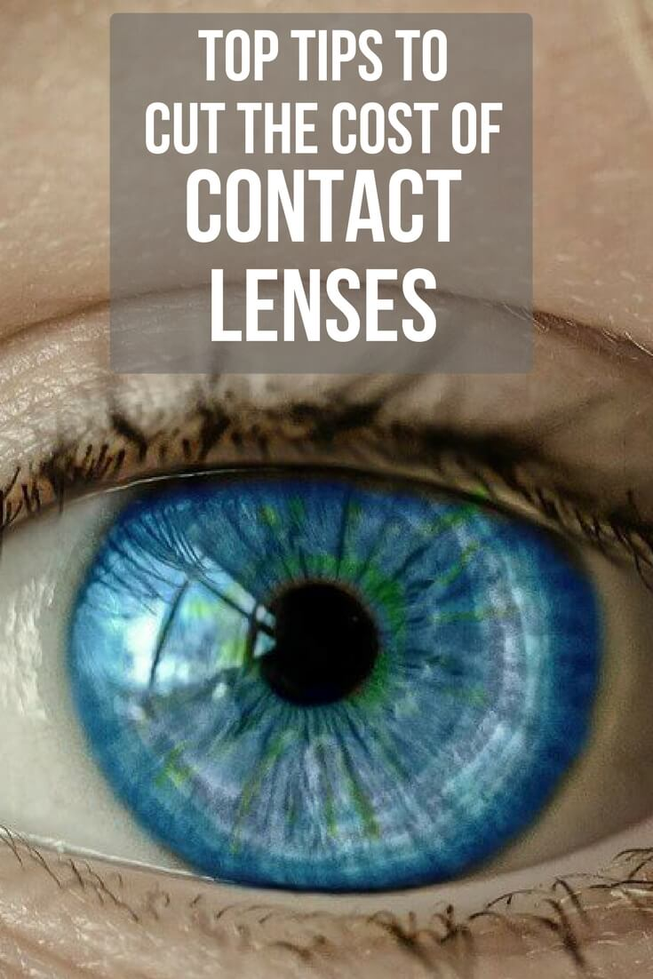 Tip tips to cut the cost of your contact lenses, including buying online, cashback, voucher codes, bulk-buy & finding a lost cost equivalent to usual lenses