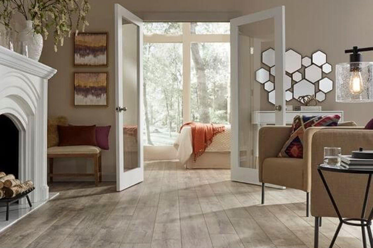 creative with your laminate flooring Layout and positioning