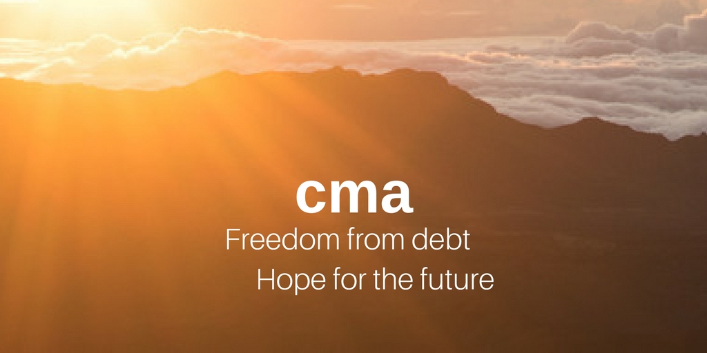 Community Money Advice Freedom from Debt, Hope for the Future