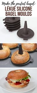 Review : If you love bagels, you'll love these ingenious Lékué Silicone Bagel Moulds from Lakeland. Making bagels has never been so easy. Check out my review and recipe ideas.
