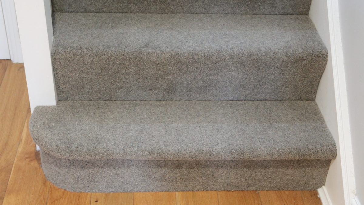 Lakeland Twist Carpet on our stairs from United Carpets