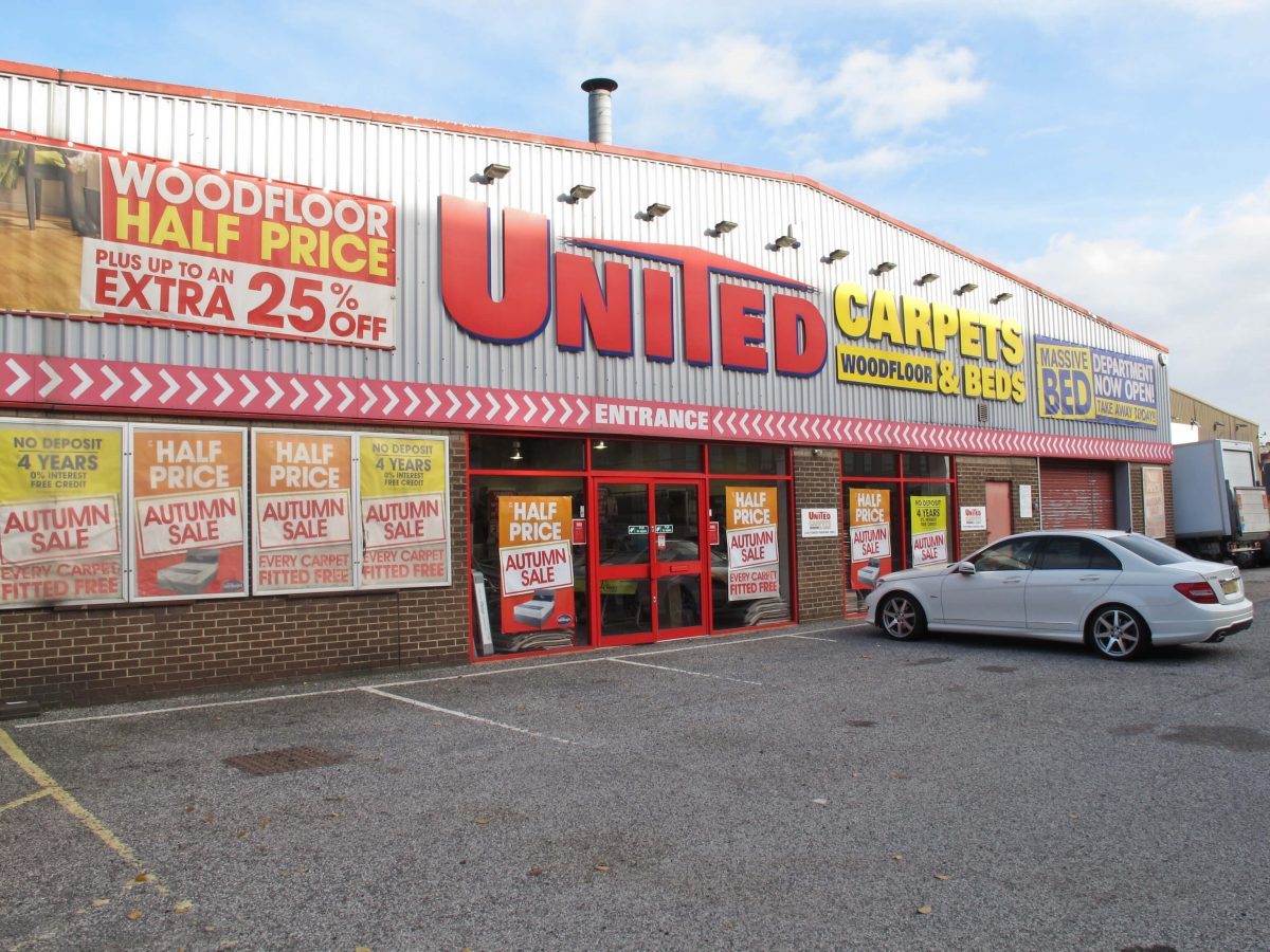 United Carpets & Beds, Nottingham